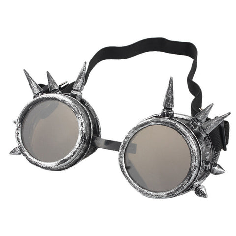 Durable  lunette de soleil  Rivet Steampunk  sunglasses women Windproof for oculos Mirror Vintage Gothic Glasses oculos luneta - Dollar Bargains - 2