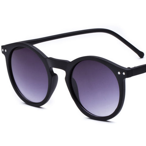 Brand Designer Ellipse Shape Multiple Color Reflective Sunglasses Women Vintage Keyhole Mirror Glasses oculos feminino MA019 - Dollar Bargains - 6