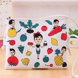 New Fashion Cartoon Printed Women Graffiti Handbag Mini Crossbody Shoulder Bag Ladies Casual Purses Clutches Girls Handbag G0739-Dollar Bargains Online Shopping Australia