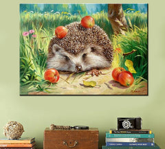 Wall Pictures for Living Room Cuadros Hedgehog Coloring by Numbers Canvas Oil Paintings DIY Digital Oil Painting Art Home Decor-Dollar Bargains Online Shopping Australia