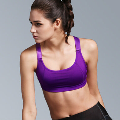 8af38e7ef6 Women Yoga Bra Sports Bra for Running Gym Fitness Athletic Bras Padded Push  Up Tank Tops