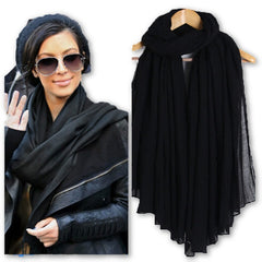 New Fashion Women Cotton Scarves Soft Ladies Scarf Shawls Female Wraps pashmina hijab scarf muslim for women-Dollar Bargains Online Shopping Australia