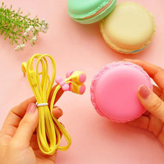 New Macarons Design In-Ear Earphone For Xiaomi Samsung iPhone Cute Earphone For MP3 Player-Dollar Bargains Online Shopping Australia