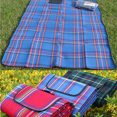 Waterproof Outdoor Foldable Beach Picnic Camping Multiplayer Moistureproof Mat Blanket Folding Baby Climb Plaid Blanket-Dollar Bargains Online Shopping Australia