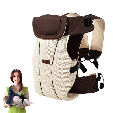 2-30 Months Breathable Multifunctional Front Facing Baby Carrier Infant Baby Sling Backpack Pouch Wrap Baby Kangaroo-Dollar Bargains Online Shopping Australia