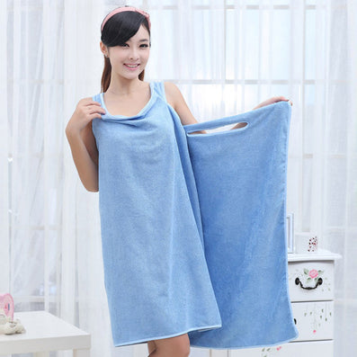 Bath Towels Fashion Lady Girls Wearable Fast Drying Magic Bath Towel Beach Spa Bathrobes Bath Skirt-Dollar Bargains Online Shopping Australia