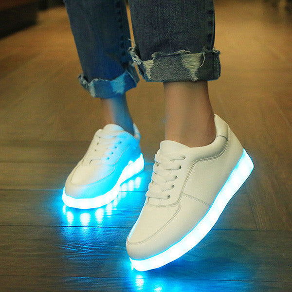 Shoes Led Shoes Luminous Sneakers Light Shoes Glowing Sneakers With Luminous Sole Basket For Women Men Feminino Tenis Shoes Firm In Structure Men's Shoes
