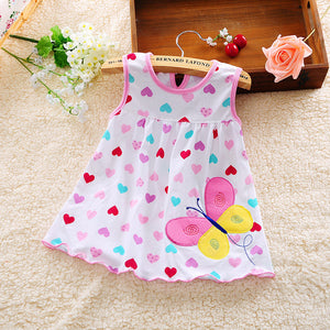 Baby Dress 2016 Hot Sales Princess Girls Dress 0-1years Cotton Clothing Baby Infant Summer Clothes - Dollar Bargains - 1