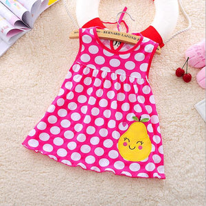 Baby Dress 2016 Hot Sales Princess Girls Dress 0-1years Cotton Clothing Baby Infant Summer Clothes - Dollar Bargains - 2