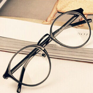 Mens Womens Nerd Glasses Clear Lens Eyewear Unisex Retro Eyeglasses Spectacles - Dollar Bargains - 1