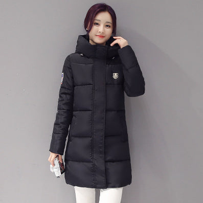 Winter Women's Fashion Down Warm Coats Arrival Fashion Long sleeve Hooded Jackets Slim Style Casual Parka Coat M0510-Dollar Bargains Online Shopping Australia