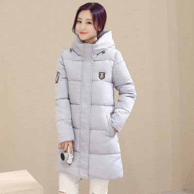 7e106d00f96 Winter Women's Fashion Down Warm Coats New Arrival Fashion Long sleeve Hooded  Jackets Slim Style Casual