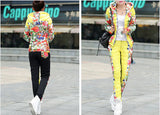 HEE GRAND 2016 Winter Jacket Women Casual Flower Printed Hooded Warm Thickening Parka (Coat+Pants Sets ) WAT270 - Dollar Bargains - 2