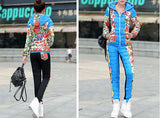HEE GRAND 2016 Winter Jacket Women Casual Flower Printed Hooded Warm Thickening Parka (Coat+Pants Sets ) WAT270 - Dollar Bargains - 3