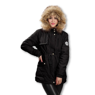 Winter Down Jackets and Coats Women Autumn Jacket New Down Parka Plus Size Coat Womens Hoodies Parkas-Dollar Bargains Online Shopping Australia