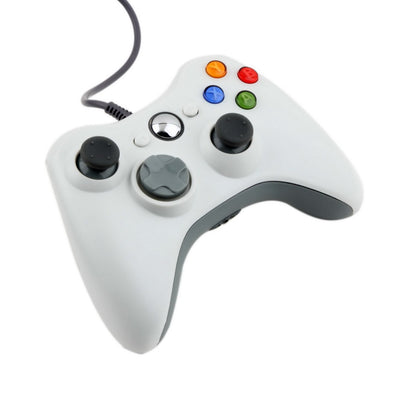 USB Wired Joypad Gamepad white Controller For Microsoft for Xbox & Slim for 360 PC for Windows 7 Worldwide-Dollar Bargains Online Shopping Australia
