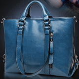 2015 New Fashion Genuine Leather bags Tote Women Leather Handbags Women Messenger Bags Shoulder Bags Hot Vintage bags popular - Dollar Bargains - 6