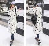 7-14 days To Moscow 2016 Winter Women's Cotton Slim Long Coat Hooded Parka Jackets Coats White Overcoat Plus Size Down Parkas - Dollar Bargains - 12
