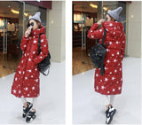 7-14 days To Moscow 2016 Winter Women's Cotton Slim Long Coat Hooded Parka Jackets Coats White Overcoat Plus Size Down Parkas - Dollar Bargains - 15