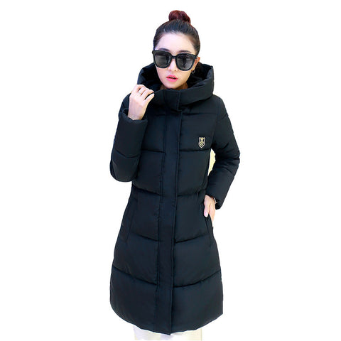 2016 New Winter Women Long Warm Cultivate One's Morality Upset Down Jacket Have Big Yards Fashion Coat Female Padded Parka - Dollar Bargains - 1