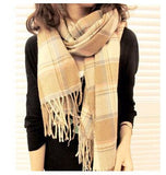 Fashion Wool Winter Scarf Women Spain Desigual Scarf Plaid Thick Brand Shawls and Scarves for Women - Dollar Bargains - 9
