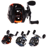 (Left and Right) PAF103 10+1BB Ball Bearings Hand Bait Casting Fishing Reel High Speed Bait Casting Pesca 6.3:1 Blue and Black-Dollar Bargains Online Shopping Australia