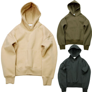 Very good quality nice hip hop hoodies with fleece WARM winter mens kanye west hoodie sweatshirt swag solid Olive YEEZY pullover - Dollar Bargains - 1
