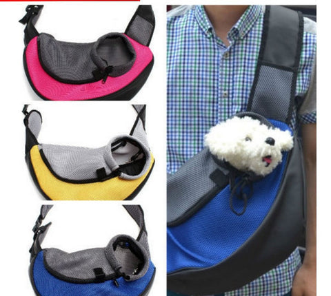 Pet Carrier Dog Carrier Cat Puppy Small Animal Pet Sling Front Carrier Mesh Comfort Travel Tote Shoulder Bag Pet Backpack SL - Dollar Bargains - 1