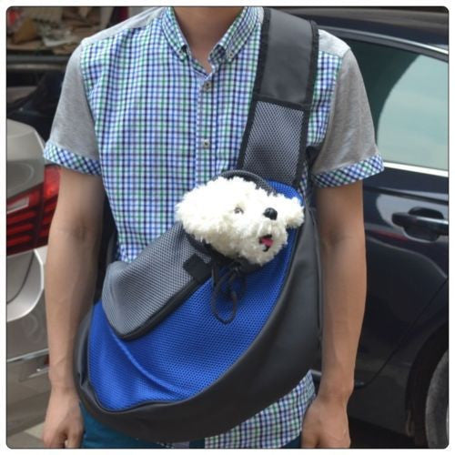 2a74d648d5 Pet Carrier Dog Carrier Cat Puppy Small Animal Pet Sling Front Carrier Mesh  Comfort Travel Tote