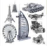 Stylish Metallic Steel For Nano Intelligence 3D Educational Jigsaw Puzzle Model Toy Gift For Kid forge world-Dollar Bargains Online Shopping Australia