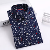 Brand New Women Floral Shirts Cotton Long Sleeve Shirt Women Floral Print Shirt Casual Ladies Blouse Turn Down Collar Women Tops - Dollar Bargains - 5