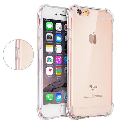 best website e113b 00e6e For Apple iPhone 6 6s Case Slim Crystal Clear TPU Silicone ...