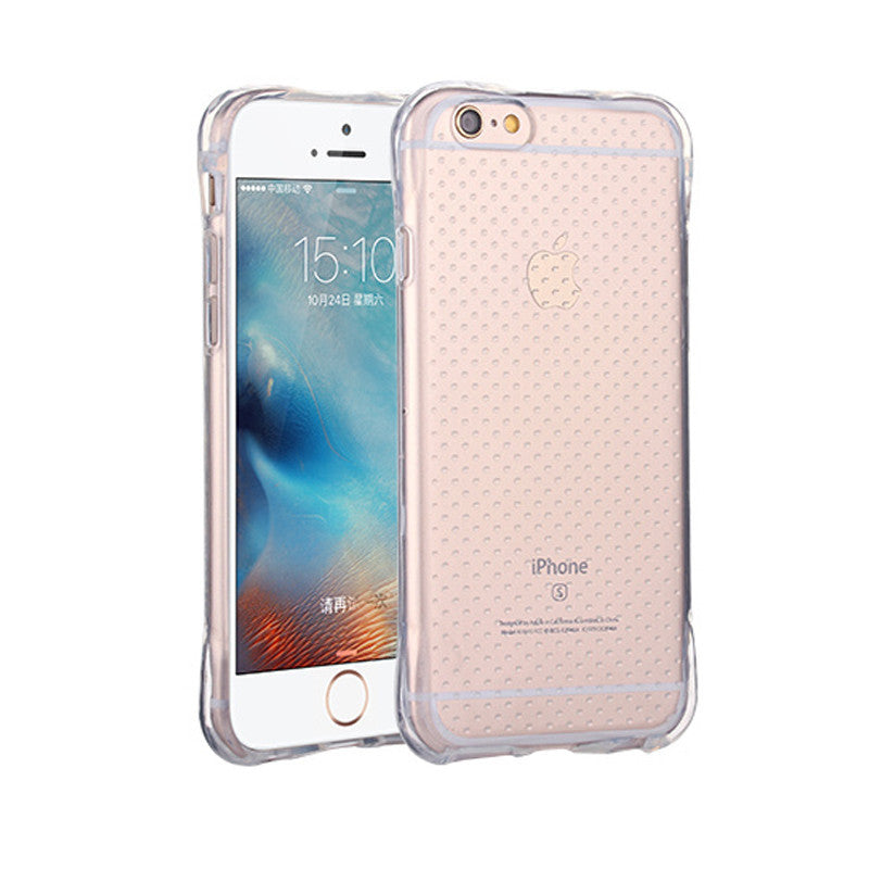 1 / For iPhone 5For Apple iPhone 6 6s Case Slim Crystal Clear TPU Silicone Protective sleeve for iPhone 6 plus / 6s plus cover 5 5S SE cases