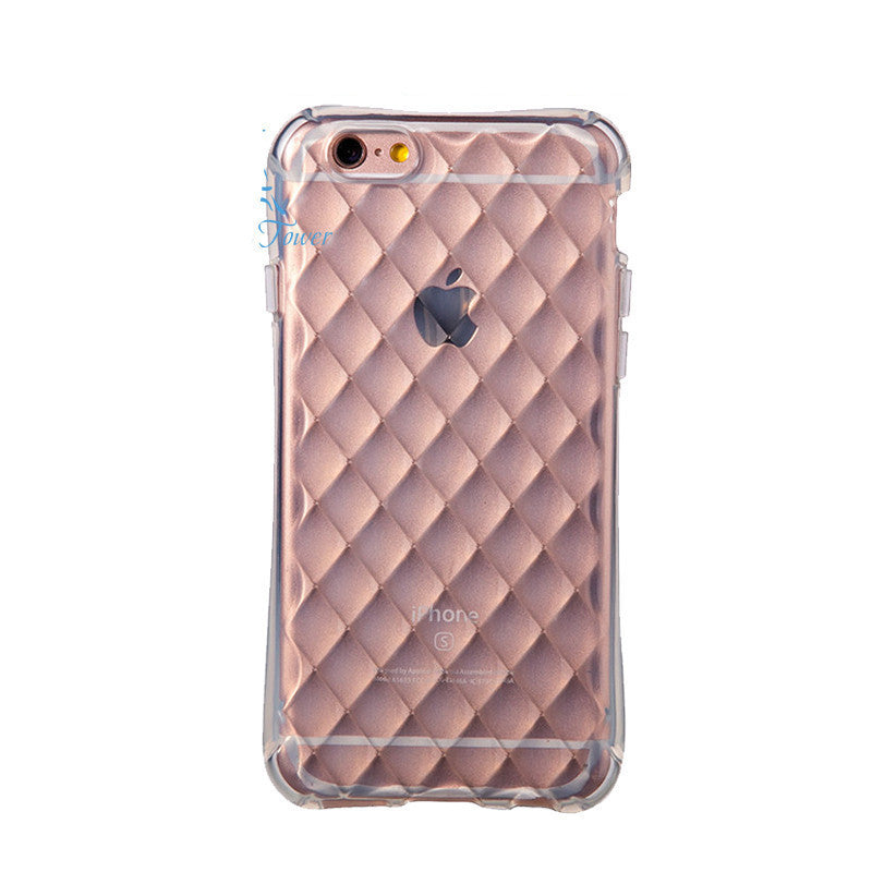 3 / For iPhone 5For Apple iPhone 6 6s Case Slim Crystal Clear TPU Silicone Protective sleeve for iPhone 6 plus / 6s plus cover 5 5S SE cases