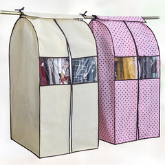 Large Capacity Cloth Hanging Suit Coat Dust Cover Protector Wardrobe Storage Bag-Dollar Bargains Online Shopping Australia
