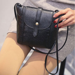 Women's Leather Handbags Fashion Female Small Messenger Bags Crossbody Shoulder Bags Candy Color Lady Handbags 1STL-Dollar Bargains Online Shopping Australia