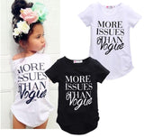 New Kids Baby Girls Summer Fashion Cotton Short sleeve T-shirt Tops Clothes-Dollar Bargains Online Shopping Australia