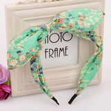 2016 New Floral Flowers Hairband Fabric Butterfly Bow Knot Hair Hoop Rabbit Ears Headband for Headwear Women Hair Accessories - Dollar Bargains - 8