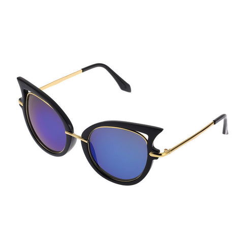 Hot Retro Metal Frame Sexy Cat Eye Sunglasses for Women Coating Brand vintage sun glasses female oculos de grau femininos - Dollar Bargains - 3