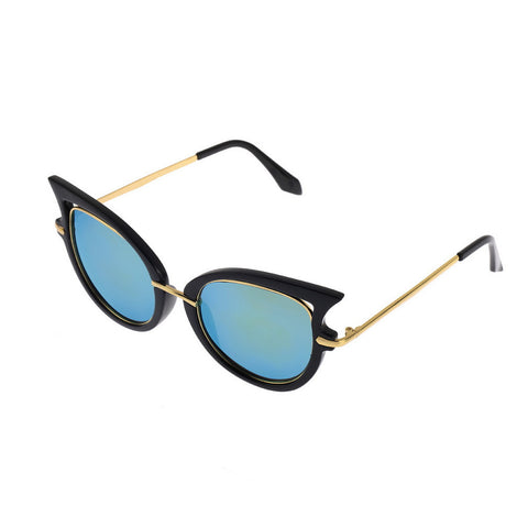 Hot Retro Metal Frame Sexy Cat Eye Sunglasses for Women Coating Brand vintage sun glasses female oculos de grau femininos - Dollar Bargains - 8