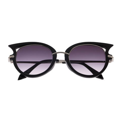 Hot Retro Metal Frame Sexy Cat Eye Sunglasses for Women Coating Brand vintage sun glasses female oculos de grau femininos - Dollar Bargains - 6