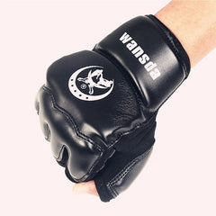 Adults/Kids Half Fingers Boxing Gloves Mitts Sanda Karate Sandbag Taekwondo Protector For Boxeo MMA Punch-Dollar Bargains Online Shopping Australia