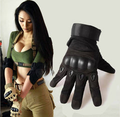 Army Tactical Gloves Outdoor Sports Full Finger Combat Motocycle Slip-resistant Carbon Fiber Tortoise Shell-Dollar Bargains Online Shopping Australia