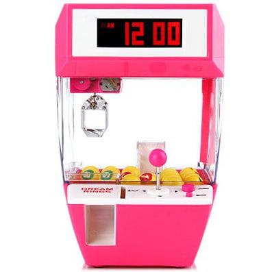 Free Shipping 1Piece Retro Carnival Fun Candy Grabber Alarm Clock / Catcher Alarm Clock - Dollar Bargains