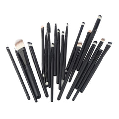 20 Pcs Makeup Brushes Set Powder Foundation Eyeshadow Eyeliner Lip Cosmetic Brushes Maquiagem StockClearance-Dollar Bargains Online Shopping Australia