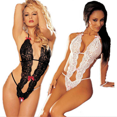 2016 Lace Sexy Women Lady Sleepwear Pinup Super Hot Underwear Mujer Nightwear Dress lingerie Beauty Sleepshirts Promotions Black - Dollar Bargains
