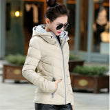 New Fashion Down & Parkas Warm Winter Coat Women Light Thick Winter Plus Size Hooded Jacket Female Femme Outerwear C1728-Dollar Bargains Online Shopping Australia
