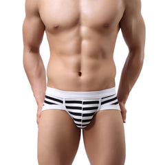 Brand new Men's Sexy Stripe Cotton Underwear shorts men boxers underpants Soft clothes-Dollar Bargains Online Shopping Australia
