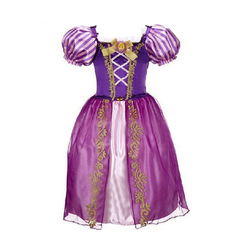2015 New Girls Cinderella Dresses Children Snow White Princess Dresses Rapunzel Aurora Kids Party Halloween Costume Clothes k20 - Dollar Bargains - 1