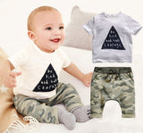 Bear Leader kids boys summer style infant clothes baby clothing sets boy Cotton little monsters short sleeve 2pcs baby-Dollar Bargains Online Shopping Australia